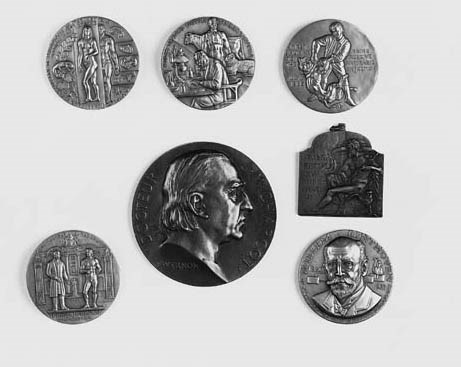 A collection of seven various