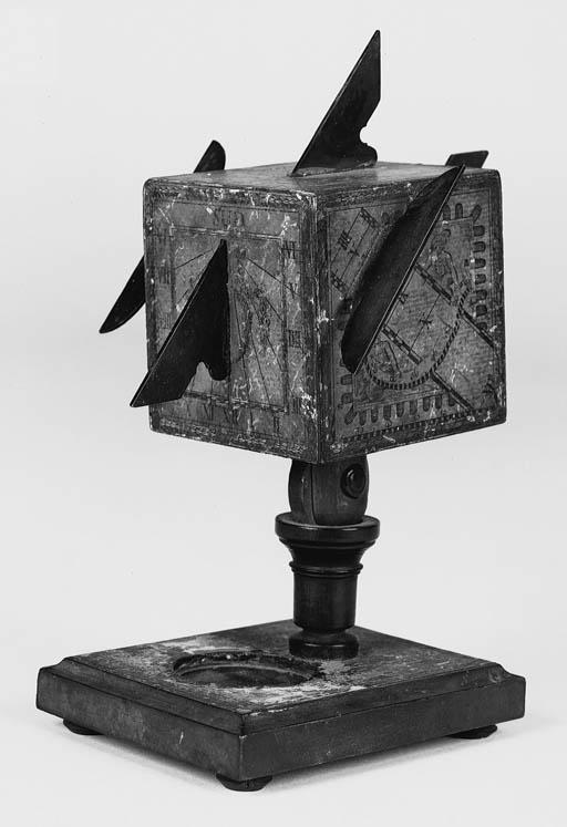 An 18th-Century cube dial,