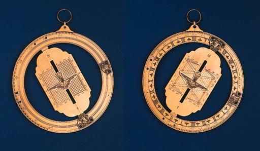 A fine brass reproduction equi