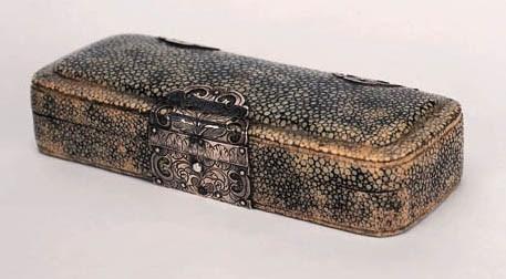 A rare 17th-Century silver-mou