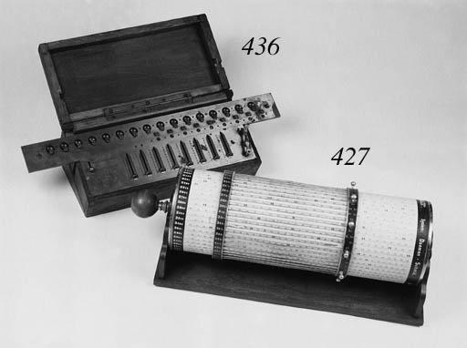 A Payen Arithmometre,