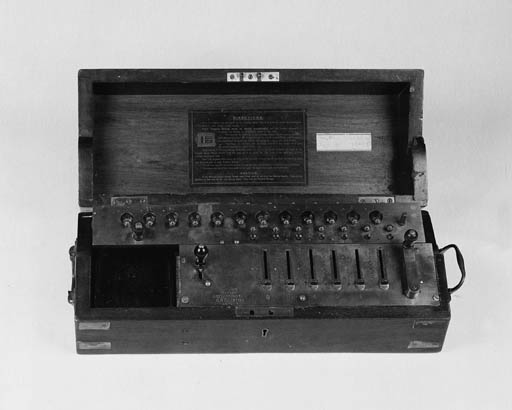 A Tate's Patent Arithmometer
