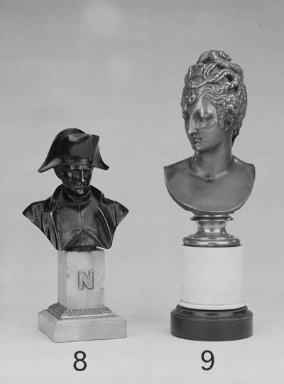 A FRENCH BRONZE BUST OF DIANA,
