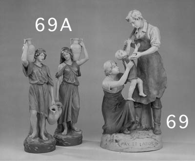 A Royal Dux porcelain group