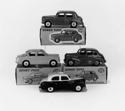 DINKY CARS, 1950S
