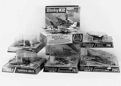 DINKY 1970 AIRCRAFT