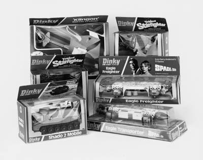 DINKY SPACE TOYS,  1970S