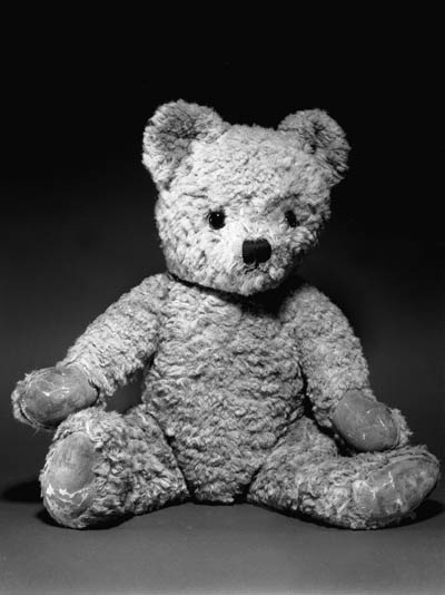 AN ALPHA FARNELL TEDDY BEAR