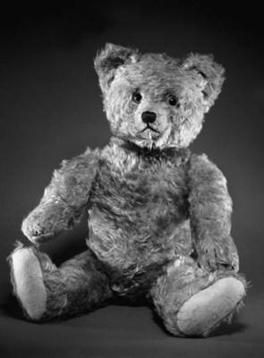 A SCHUCO 'YES/NO' TEDDY BEAR