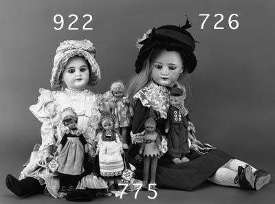 A LARGE HEUBACH 250 CHILD DOLL