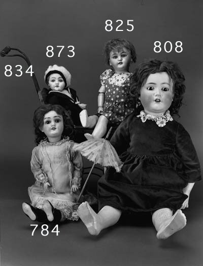 A KLEY & HAHN 250 CHILD DOLL