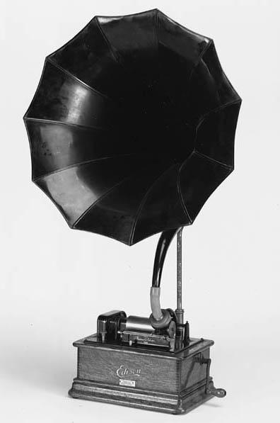 An Edison Standard phonograph,