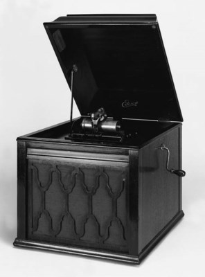 A rare Amberola 60 phonograph,
