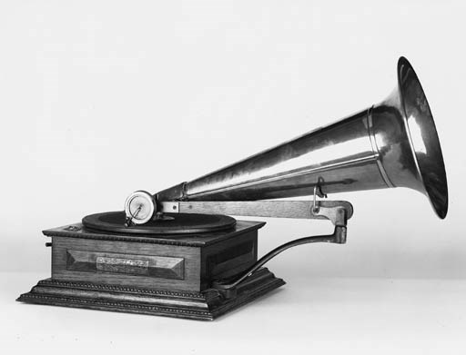 A New Style No. 4 Gramophone,