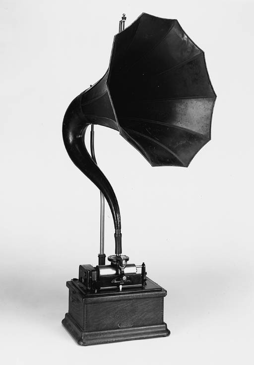 An Edison Fireside phonograph,