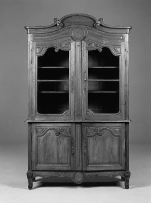 A French pine buffet a deux co