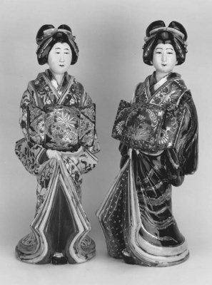 TWO SIMILAR JAPANESE MODELS OF