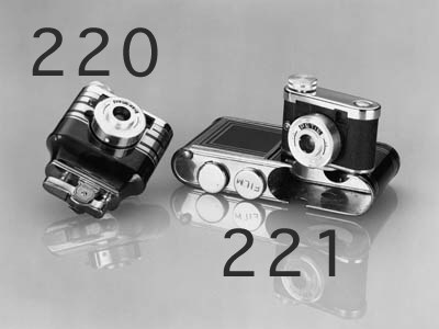 Petie lighter camera