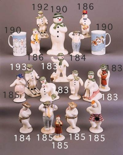 'The Snowman Tabogganing', 'Bu