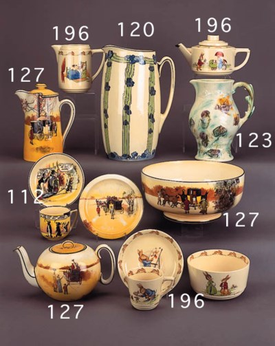 A 'Bunnykins' tea set