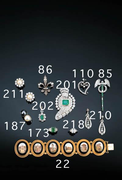 A rectangular cut diamond single stone ring,