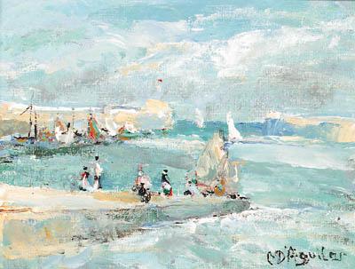 Michael D'Aguilar (b.1924)