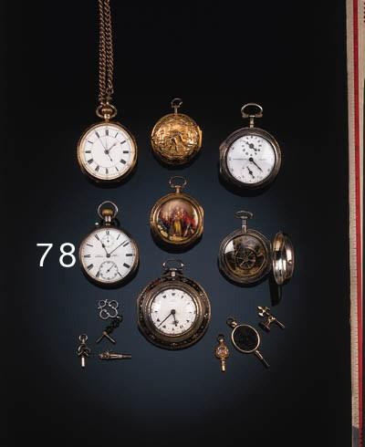 A chronometer pocket watch mov