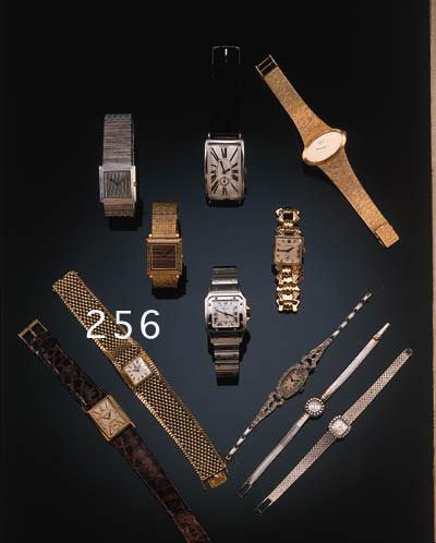 Omega, a lady's wristwatch, 19
