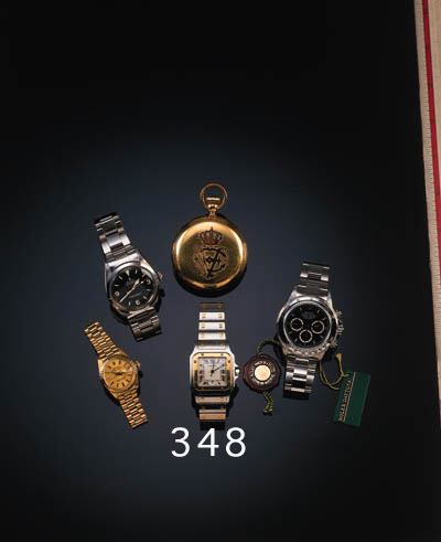 Cartier, a gentleman's steel a
