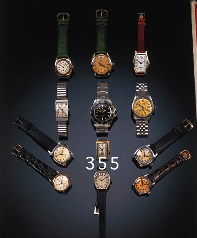 Rolex, a gentleman's 9ct. gold