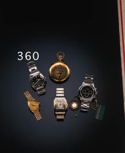 Rolex, a gentleman's stainless