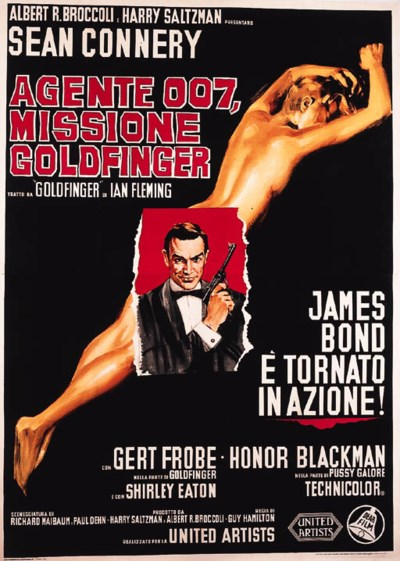 Goldfinger/Agente 007, Mission