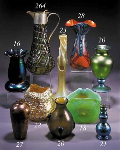 A Loetz glass vase