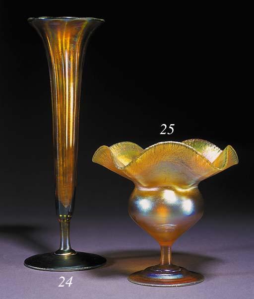 A Tiffany Favrile vase