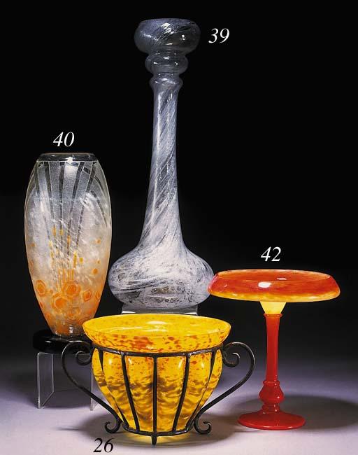 A Delatte vase