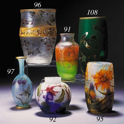 A Daum vase