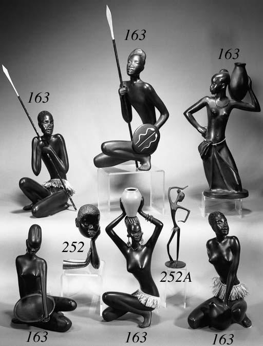 Six Hagenaur style pottery fig