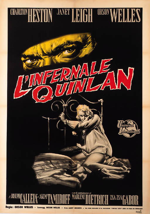 TOUCH OF EVIL/L'INFERNALE QUIN