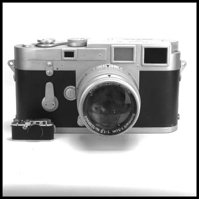 Display Leica M3 no. 839725