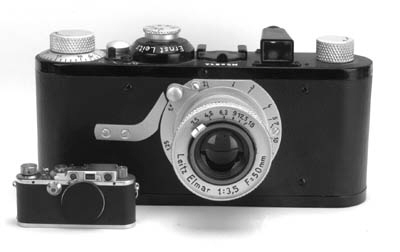 Display Leica I(a) camera