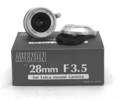 Avenon 28mm. f/3.5 no. 96105