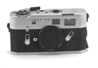 Leica M5 no. 1292278