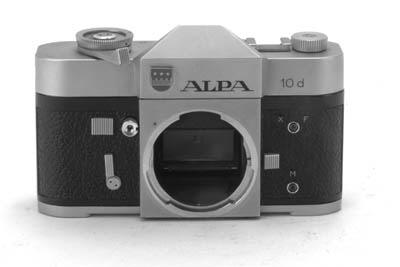 Alpa 10d no. 53181
