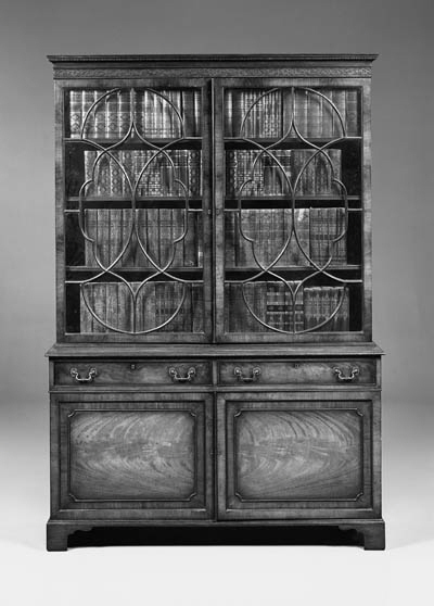A George III style mahogany bo