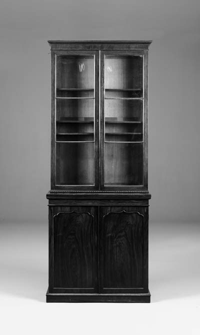 An early Victorian rosewood bo