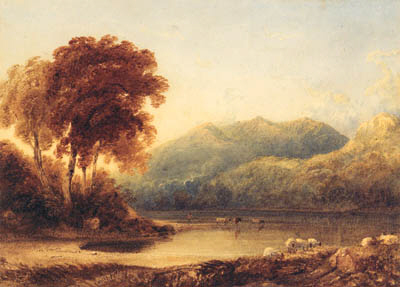 Anthony Vandyke Copley Fielding, P.O.W.S.