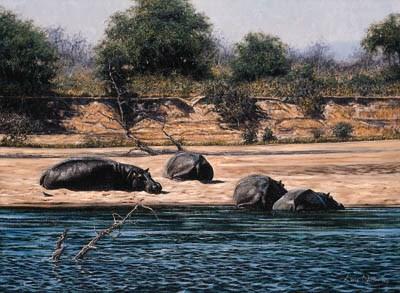 LARRY NORTON (B.1963), ZIMBABW