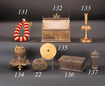 AN INDO-PERSIAN GOLD DAMASCENE