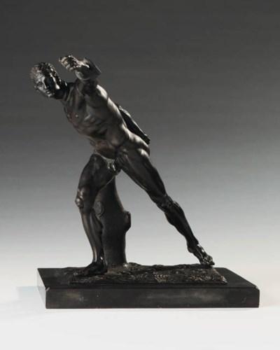A Italian bronze model of the