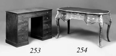 A late George III mahogany kne